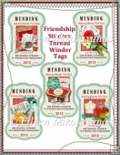 Friendships Stitches Thread Winder Diecut Elements