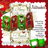 Christmas Nutcracker 3D Twist and Pop Card Kit