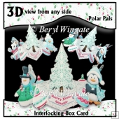 Interlocking Box Card Polar Pals