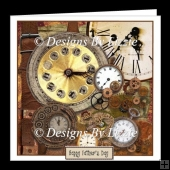Steampunk Watches and Cogs