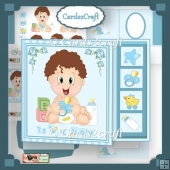 Baby Boy card set
