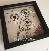 Dandelion Wishes 2 Word Art Gift Keepsake multi format