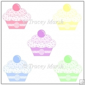 5 Commercial Use PNG Cupcake Images