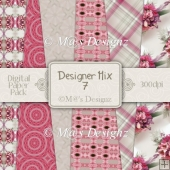 Designer Mix Set 7 12x12 Papers