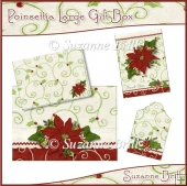 Poinsettia Large Gift Box