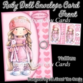 Ruby Doll Envelope Card Front