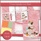 I Love Cupcakes List Book
