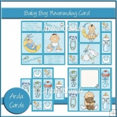 Baby Boy Neverending Card