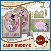 Tis the Season Round Topped Duo Fold Card Kit