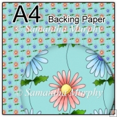 ref1_bp82 - Turquoise Daisy Flowers