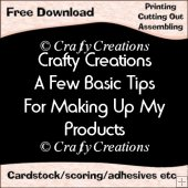 Crafty Creations Basic Tips