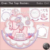 Rocker Card: Baby Girl