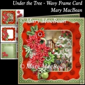 Under the Tree - Wavy Frame Card