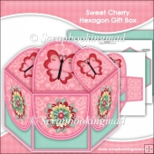 Sweet Cherry Hexagon Gift Box