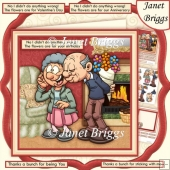 NO I DIDN'T DO ANYTHING WRONG 8x8 Humorous Decoupage Insert Kit
