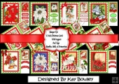Christmas, Baubles, Bells & Poinsettias bumper kit
