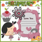 Sweet Love Commercial Use Clip Art