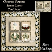 Christmas Surprises Square Layers Card Front
