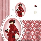 RTP Oval Frilly Die Cutting Lady 1(Retiring in August)