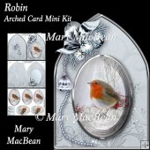 Robin - Arched Card Mini Kit
