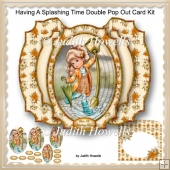 Having A Splashing Time Double Pop Out Card Kit