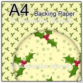 ref1_bp352 - Yellow Christmas Holly