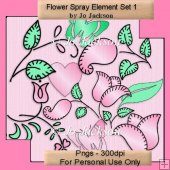 Flower Spray Element Set 1