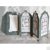 Wedding Screen Fold Card & Envelope