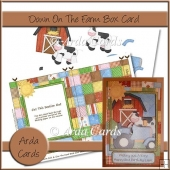 Down On The Farm Box Card
