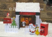 Santa's Grotto 3d papercraft model
