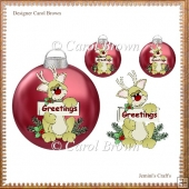 Baubles Greeting (Retiring in November)