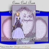Cameo Card Fronts