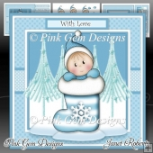 Baby Boy Stocking Mini Kit