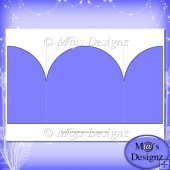 Square Gatefold Template 8
