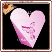 595 Heart Triangle Box *Multiple MACHINE Formats*