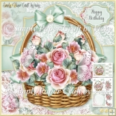 Flower Basket 35