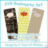SVG Bookmarks Set Cutting Files