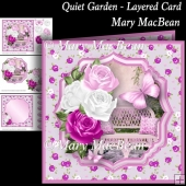 Quiet Garden - Layered Card