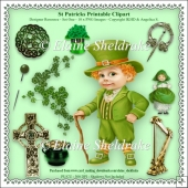St Patricks Day - Printable Clipart - Set One