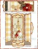 French Farmhouse Bookmark Set - Holder and Bookmark