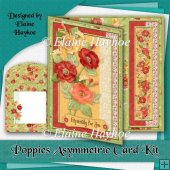 Poppy Posy Asymmetric Card Kit