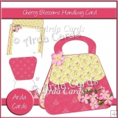 Cherry Blossom Handbag Card