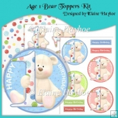Age 1 Bear Toppers Kit