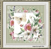 Hedge rose 7x7 card