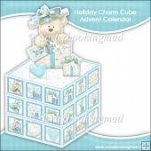 Holiday Charm Cube Advent Calendar