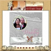 093 Wedding Album Quick Page Set - 2 pages