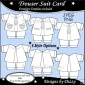 Trouser Suit Template