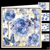 Blue Rose Mini Kit