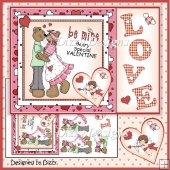 Beary Special Valentine Card Front