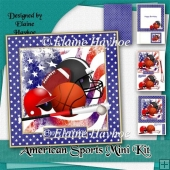American Sports Birthday Mini Kit